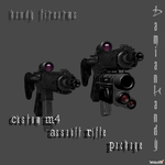 Custom M4 Assault Rifle Package by DamianHandy