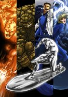 Fantastic four by Elforim
