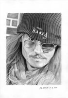 Johnny Depp - New York 2013 by shaman-art