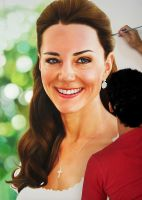 Princesa Kate Middleton by fabianoMillani