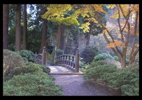 Japanese Gardens - The Gateway by lilith-darkmoon