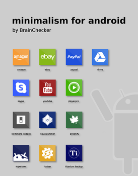 minimalism for android  (extension 1) by BrainChecker