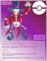 pokeDex - Sr. Mime (Senior Mime) by MaverickTears