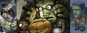Halloween Contest 2013 Results! by CGCookie