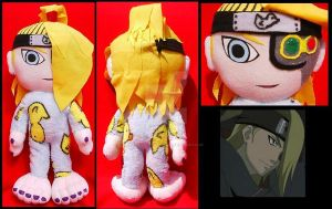 Deidara in ducky pajamas by A-chan--Creations