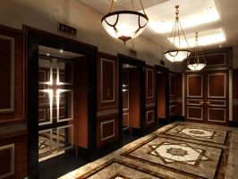 Lift Lobby by masvaley