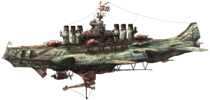 3rd fleet flagship heavy bombketch Noigelie by AoiWaffle0608