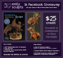 Facebook Giveaway by emilySculpts
