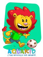 Lion-football by Arctopicto