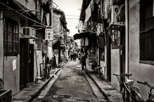 Back Alley (Shanghai) by Serdar-T