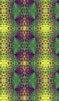 Tribal neon pattern (mobile var) by Eternatease