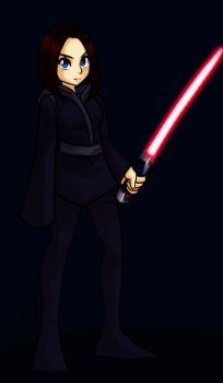 Darth Valerie by AndrewDickman
