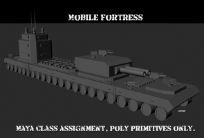 Mobile Fortress by Javoid