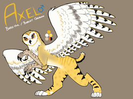[PERSONAL] Axel The Gryphon! by Aeyote
