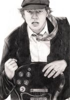 Angus Young - Request by kocham-trufle
