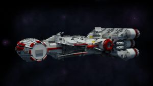 LEGO Blockade Runner by Knightfall3D