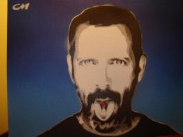 Dr. House by Stencils-by-Chase