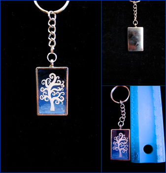 Tree of Life Resin Keychain by minnichi