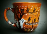 The Pumpkin Patch - Halloween Coffee Cup by InkyDreamz