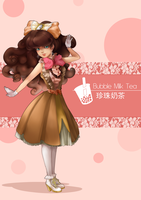 ShM: Bubble Milk Tea by Kyinn