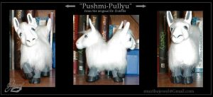 MLP custom Pushmi Pullyu by MustBeJewel