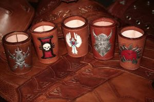 various fan dice cups by LeszekGyver