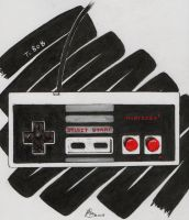 NES Controller by Destroma