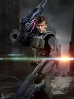 Halo ODST costume true dedication to a cause by CpCody