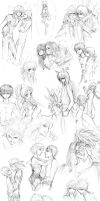 YYH+KH Sketch dump WHUMP by Atomic-Clover