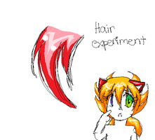 Hair experiment by bright-as-a-button