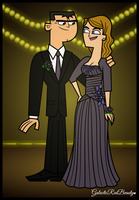 TD Prom - Brick and Jo by Galactic-Red-Beauty