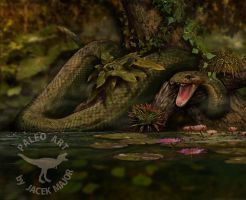 Titanoboa by A2812