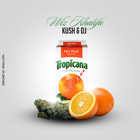 Wiz Khalifa - Kush + OJ by smalld-gfx