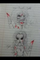 Jeff vs Jane the killer by Helen-RubiTH