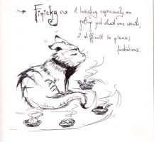 A word a day challenge - finicky by infidel-absence