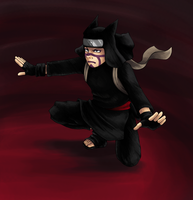 Kankuro awaits by VanillaHigh