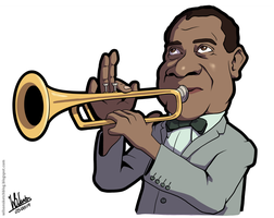 Louis Armstrong by wilson-santos