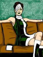 Rogue relaxes by chadleyc