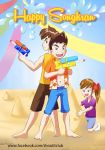 Happy Songkran Shoot-it by MarioRoz