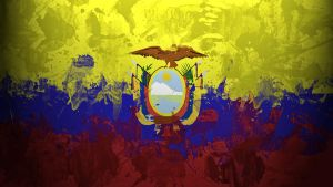 Ecuador Flag Wallpaper by GaryckArntzen