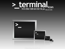 _terminal icon by tRiBaLmArKiNgS