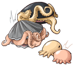 Microdex - Bubblu and Clamptopus by The-Manticore