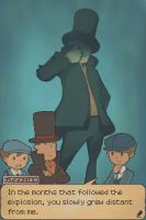Hell yeah evil layton by LiaTheYellowFairy