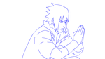 Exhausted Sasuke + Update by Smyton4tw