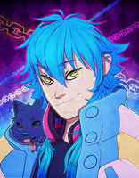 Dmmd-Aoba and Ren by kittykatmaniac