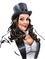 Zatanna by TheRogueSPiDER