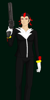 Request-Shadow the Hedgehog... human style! by Elphaba-Fang