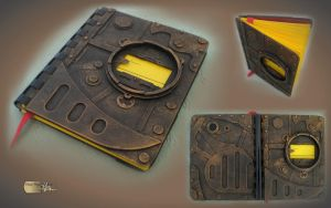 Steampunk Notebook by Diarment