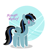 Commission: Midnight! by JellyBeanBullet