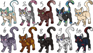 Kitten Adopts - Closed by KittehzAdopts
